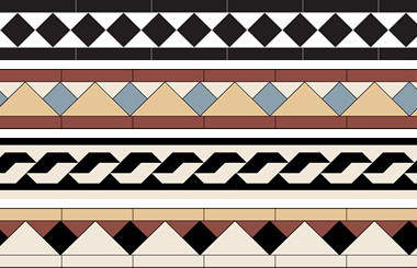 Tile borders